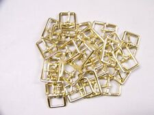 Leather Craft Buckles #121 Buckle Solid Brass 3/4 In Size Id#00121-Sb-3/4 Qty 24