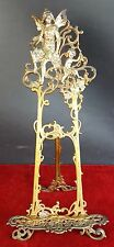 ABOUT LECTERN TABLE IN GOLDEN BRONZE. ART NOUVEAU STYLE. 19TH - 20TH.