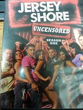Jersey Shore Season One 1 MTV Uncensored DVD 2010 3 Disc Set Complete
