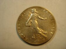 FRANCE  SILVER   50    CENTIMES   1919