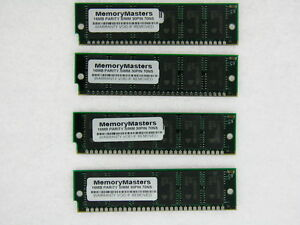 64MB 4 x 16MB 30 pin Parity SIMM Memory FPM 16X9 TESTED