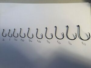 QUALITY CIRCLE SEA FISHING HOOKS FROM THE RIG SHACK