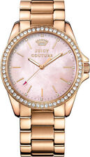 "NWT Juicy Couture Women's "" Stella "" Crystal Accent Rose Gold Tone Watch 1901262"
