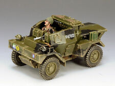 """KING AND COUNTRY """"Dingo Armoured Car"""" Normandy Version WW2 DD163"""