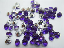 5000 Diamond Confetti 4.5mm Wedding Party Table Scatter-Purple