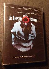Melville - Le Cercle Rouge - Criterion 2 DVD - rare oop - 60s new wave noir