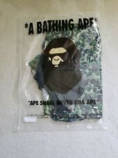 New BAPE A BATHING APE X FCRB Separate Practice Jacket Green Camo Men's Medium