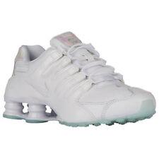 Creative Nike Air Max 1 Triple White Gum Sneakers Women's