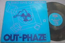 OUT-PHAZE Altered State Of Rhythm HARDCORE ELECTRONICA Picture Sleeve 12""
