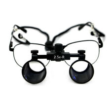 2.5X Dental Loupes Surgical Medical Binocular Optical Glass Magnifier