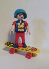 PLAYMOBIL  BOY ON SKATEBOARD
