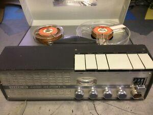 Tonbandgerät UHER 4000 Report S mit Ledertasche und Micro