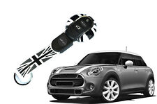 Grey Union Jack Car Keyless Case Cover Key Chain for Mini Cooper F55 F56