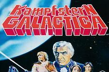 Americana 1978 Battlestar Galactica 10 X Sac en Papier Paquet Bustina Rare !