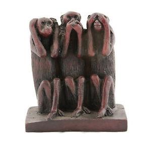 Figürchen 3 Affen mit Lebensweisheit IN Sonderposten Angebot Günstig Peterandclo