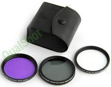 52mm Polarized PL + UV + FD CAMERA FILTER Kit Set 52 mm