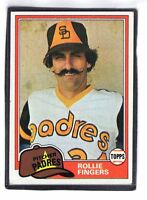 1981  ROLLIE FINGERS - Topps Baseball Card # 229 - SAN DIEGO PADRES