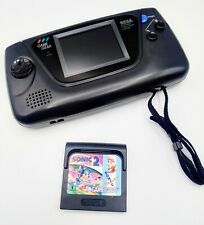 Sega Game Gear 2110 Console w/ Sonic 2 - Recapped - New Glass! Good Sound! Works