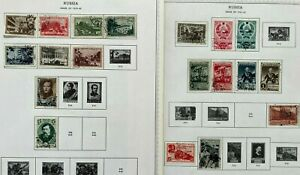 Russia 1939-42 USSR Stamps Collection