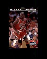 1992 SKYBOX USA BASKETBALL #40 MICHAEL JORDAN (I)