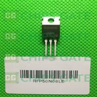 15PCS MOSFET Transistor HARRIS/INTERSIL TO-220 RFP50N06LE RFP50N06L FP50N06L
