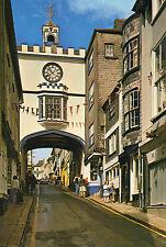 Postcard  Devon  Totnes  High street , East gate of town un posted  Dixon
