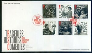 Great Britain 2011 50th Anniv. Royal Shakespeare Company F.DC. (2020/11/03#15)