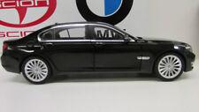BMW 750li  Sapphire Black 1:18     Factory BMW Diecast