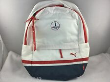 America's Cup PUMA Sports Waterproof Backpack Unisex Red White Blue Ltd Edition