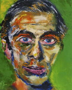 Ernst Ludwig Kirchner Self Portrait Poster Reproduction Giclee Canvas Print