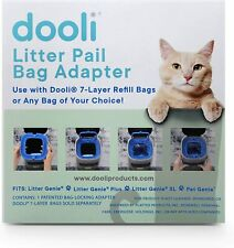New listing Dooli Litter Genie Compatible Bag Adapter - Save $ Using Your Own Bags!