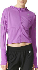 adidas Pure X Womens Running Jacket - Purple