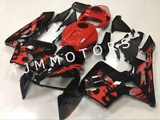For CBR600RR 2005 2006 ABS Injection Mold Bodywork Fairing Kit Red Black Leyla