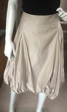 BNWT 'WHISTLES' champagne lampshade skirt size 10