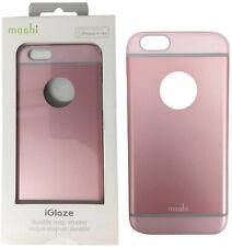 15317759296 Nuevo Moshi Iglaze Armour Slim Metálico Aluminio Funda para IPHONE 6 6S Rosa