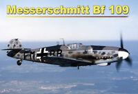 Messerschmitt Bf 109 Panneau Métallique Plaque Voûté Métal en Étain 20 X 30 CM