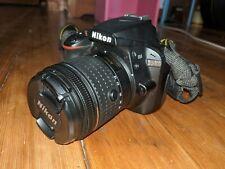 Nikon D D3400 24.2MP Digital SLR Camera  (Kit w/ AF-P DX 18-55mm Lens) USED