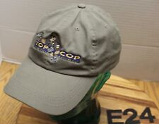 """TOP COP CHALLENGE"" BOISE IDAHO HAT GRAY EMBROIDERED STRAPBACK EXC CONDITION E24"