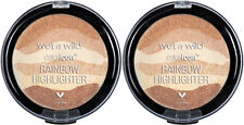 (2) Wet N Wild Coloricon Rainbow Highlighter New Sealed Bronze Over The Rainbow