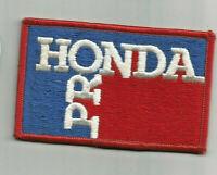Honda Pro employee advertising patch 2-1/2 X 4 #6204