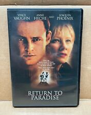 Return to Paradise DVD (1999), Used