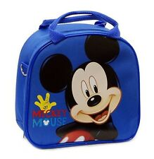 NEW!! Mickey Mouse Back to School Lunch Bag with Adjustable Strap Insulated