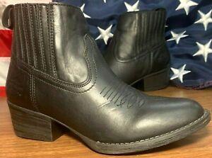 Harley-Davidson® Women's Size 6 M Curwood Short Black Fashion Boots #84314