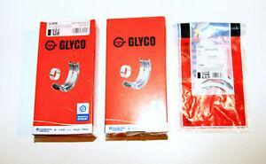 Racing Big End Bearings & Main & Starting Discs VW Audi 1,6 1,8 2,0 16V GLYCO