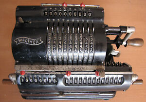 Walther pinwheel calculator Mod. RMKZ 22502 vintage antique