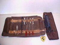 Ferrari 365 Tool Kit_Jack Roll Bag_Wrenches_Screwdrivers_Spark Plug Socket 330