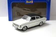1:18 REVELL OPEL OLYMPIA A Coupe White/Black New in Premium-MODELCARS