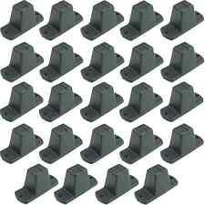 24 St. Adam Hall 4982 Plastikfüße 85 x 33 x 43 mm Möbelfüße Gerätefüße Boxenfüße