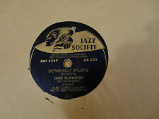 Disque 78 tours JAZZ SOCIETY DUKE ELLINGTON AA 532