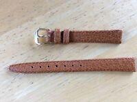 NEW KREISLER WATCH BAND BRACELET - Italian Pigskin Leather 12mm 280203-12 Honey